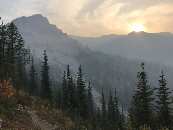 Washington was spectacular, second only to the Sierra, and I definitely want to go back and hike the rest of it