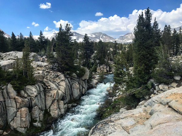 The rivers in the sierra were beautiful... but also potentially deadly