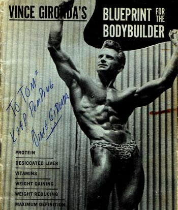 Vince Gironda Blueprint For The Bodybuilder