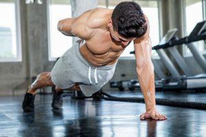 push-ups vs bench press study results
