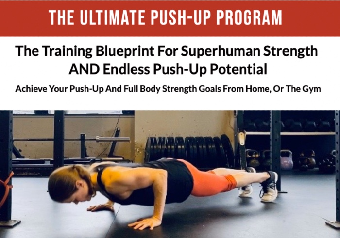 The ultimate push up program by Meghan Callaway