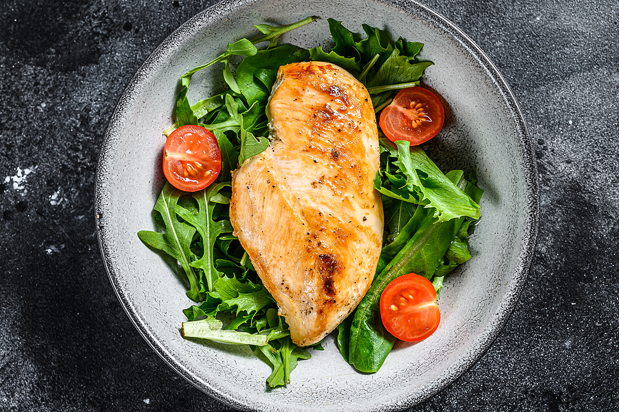 Clean Eating Meal Chicken Salad