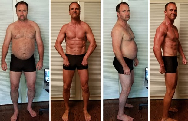 Freds burn the fat feed the muscle body transformation