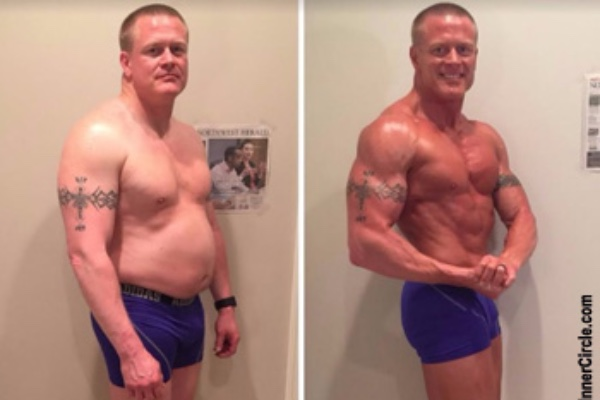 josh's burn the fat feed the muscle body transformation