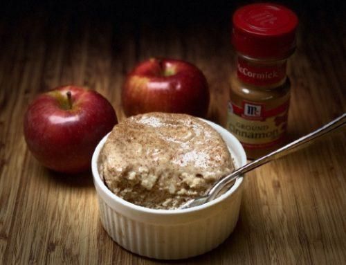 Apple Pie Protein Mug Cake Recipe