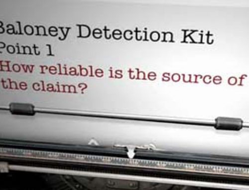 How To Avoid Health And Fitness Scams: The Baloney Detection Kit