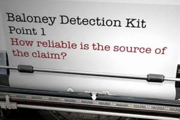 baloney detection kit