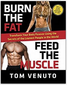 burn the fat feed the muscle by Tom Venuto book