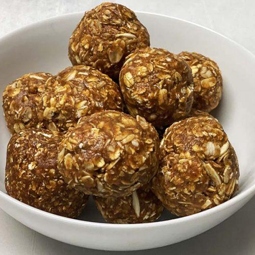 The best pumpkin spice protein balls