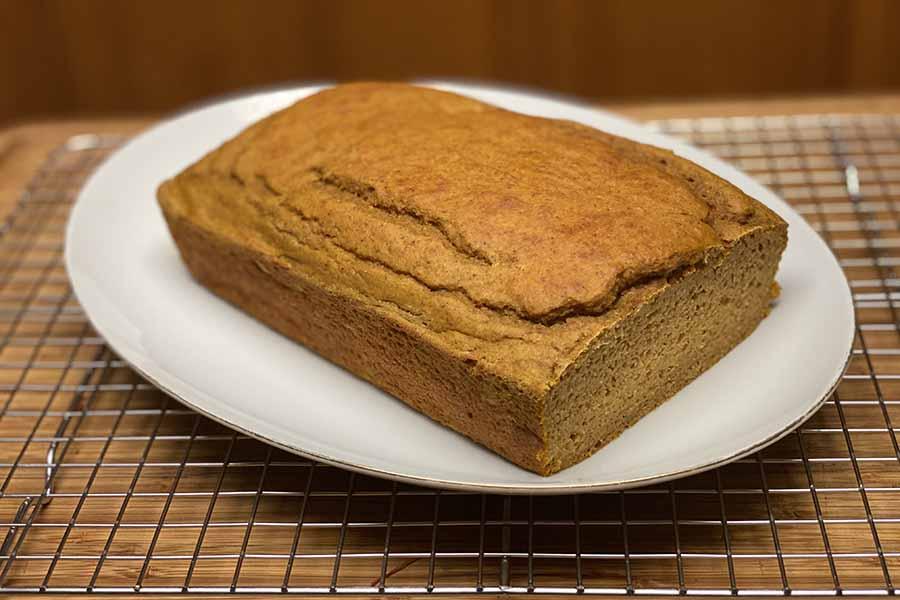 Pumpkin Spice Protein Bread - Burn The Fat Blog