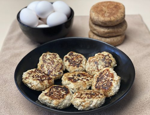 Almost Fat-Free Homemade Breakfast Turkey Sausage Patties