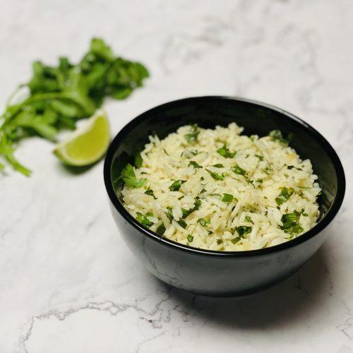 stovetop cilantro lime rice