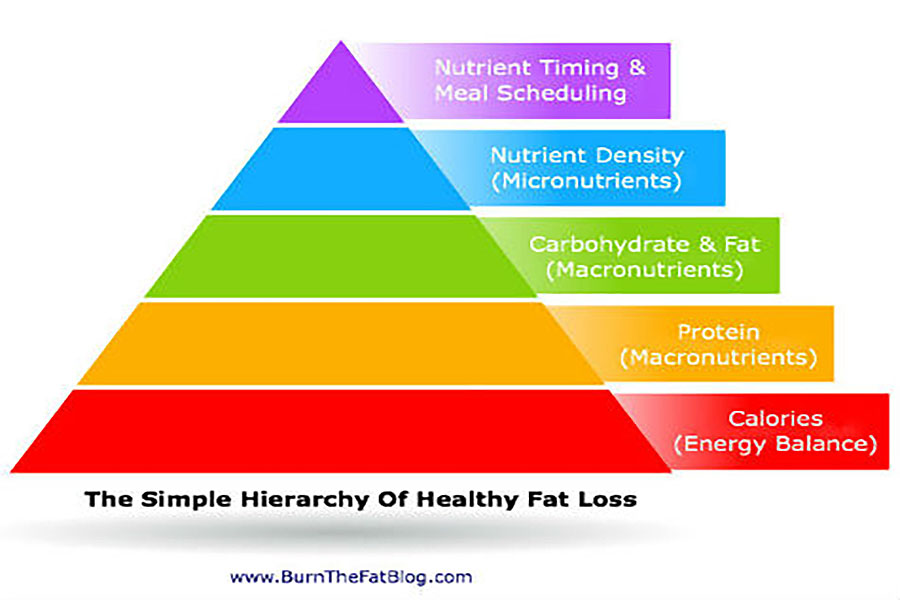 the hierarchy of fat loss