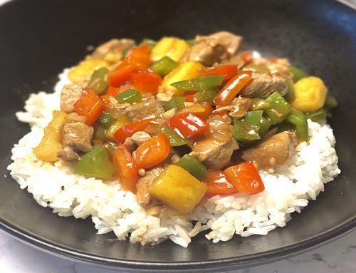 Lean And Healthy Sweet And Sour Pork Tenderloin Stir Fry