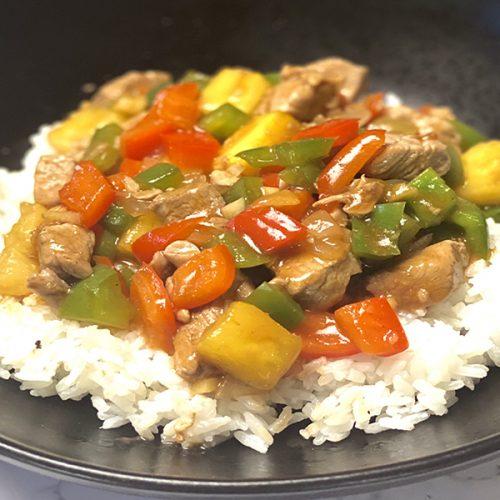healthy sweet and sour pork tenderloin recipe
